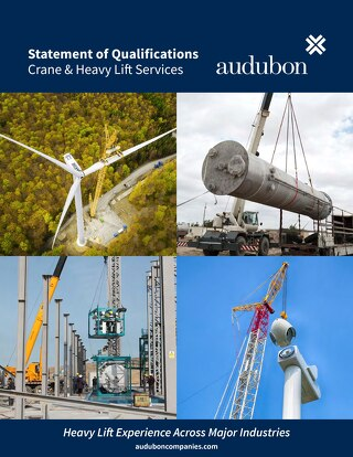 Crane & Heavy Lift Services - Statement of Qualifications