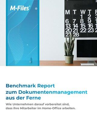 Benchmark Report zum Dokumentenmanagement aus der Ferne
