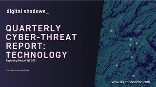 Q2 2021 Cyber Threat Report: Technology