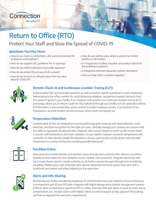 Return to Office How to Protect Your Staff