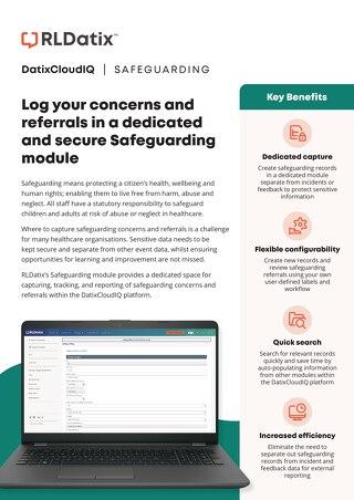 RLDatix Safeguarding Brochure