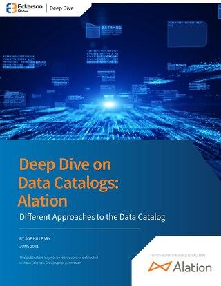 Eckerson Report: Deep Dive on Data Catalogs