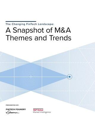 The Changing FinTech Landscape