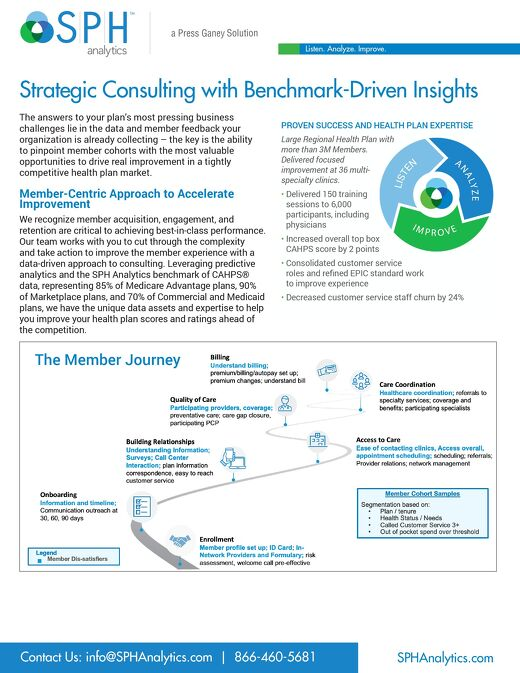 Solution Brief - Member Experience Strategic Consulting Overview