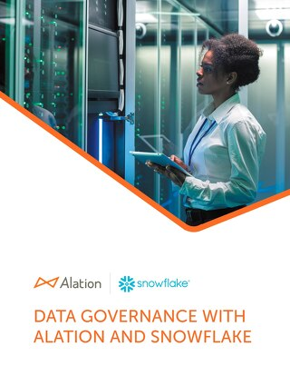 Data Governance with Alation and Snowflake