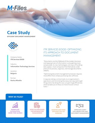 Case Study: ITR Services EOOD