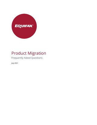 Product Migration Frequently Asked Questions