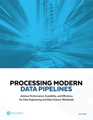 Processing Modern Data Pipelines