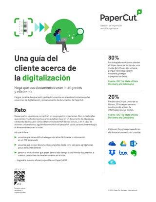 Guía del cliente de PaperCut para la digitalización