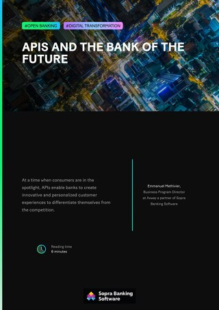 APIs and the bank of the future