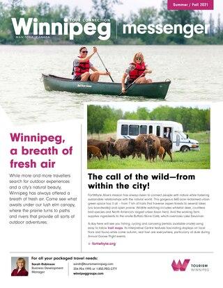 Winnipeg Tour Connection Messenger Summer 2021