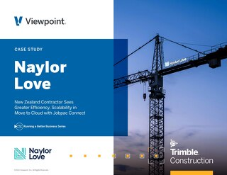 New Zealand's Naylor Love Moves to the Cloud with Jobpac