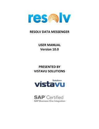User Guide | Data Messenger