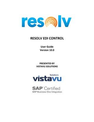 User Guide | EDI Control