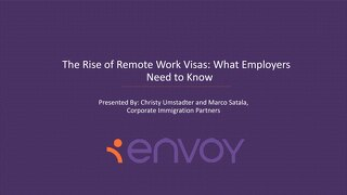 [Slide Deck] The Rise of Remote Work Visas: What Employers Need to Know