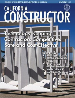 California Constructor - Technology Keeping Contractors Competitive, Safe and Cost-Effective