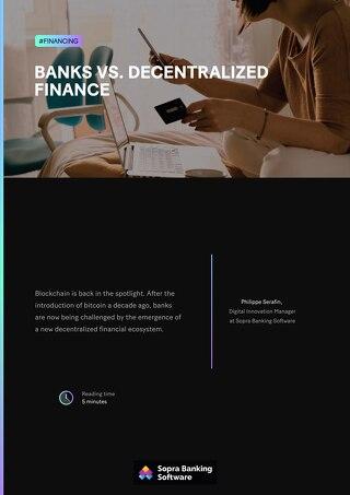 Banks vs. decentralized finance
