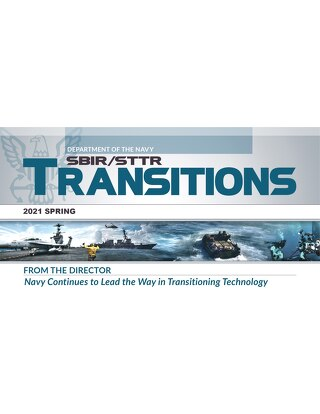 Navy SBIR/STTR Transitions Spring 2021, POC Acquisition Editorial