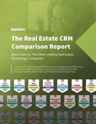 The Real Estate CRM  Comparison Report