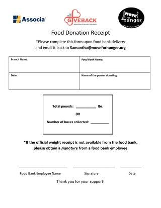 GGB Food Donation Receipt (Associa)