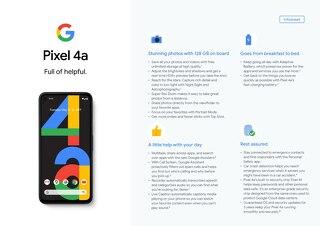 Pixel 4a Full of Helpful