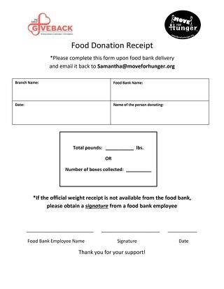 GGB Food Donation Receipt (Non-Associa)