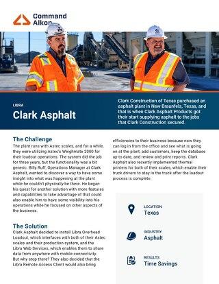 Clark Asphalt Libra Case Study