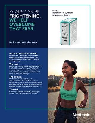 Novafil™ Monofilament Synthetic Polybutester Suture - Info Sheet