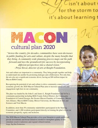 Macon Cultural Plan 2020