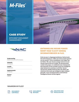 Case Study: Netherlands Aircraft Company