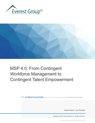 MSP 4.0: empower your contingent talent with next-gen innovations.