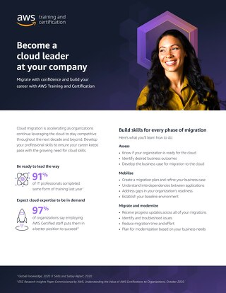 Become a cloud leader in your company