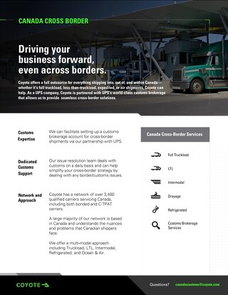 Canadian Customs Services