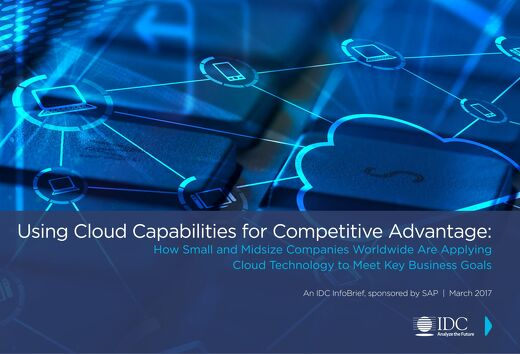 Using Cloud Capabilities for Competitive Advantage
