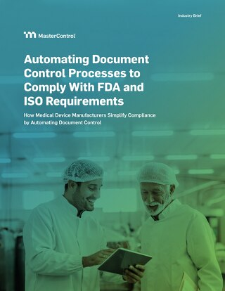 Automating Document Control Processes to Comply With FDA and ISO Requirements