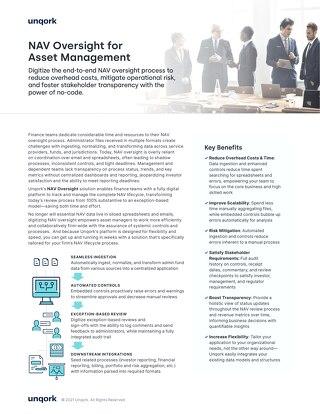 NAV Oversight for Asset Management