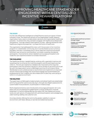 Case Study:  Points-Based Reward Incentives Module