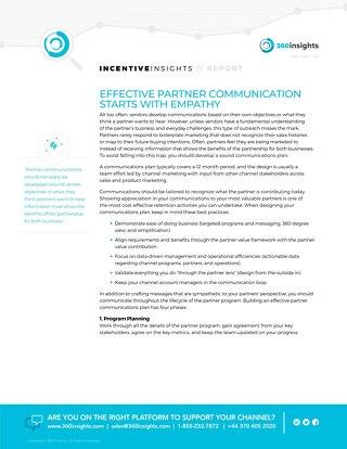 360- Effective Partner Communication Starts with Empathy