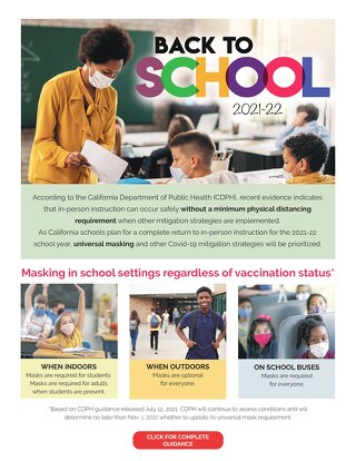 Back-to-School Masks One-pager