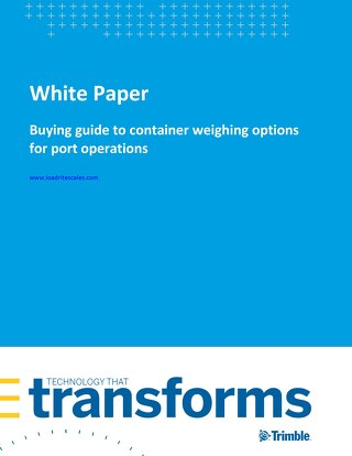 Buying guide to container weighing options for port operations