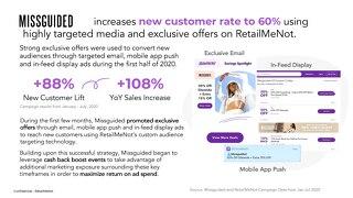 RetailMeNot + Missguided Case Study