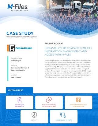 Case Study: Fulton Hogan