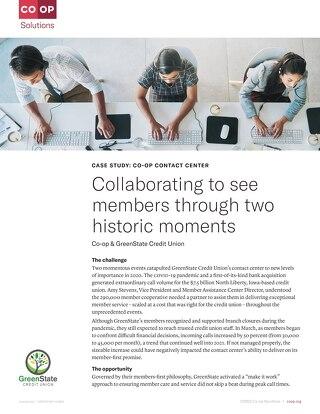 GreenState CU Contact Center Case Study