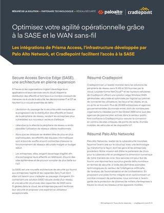 Palo Alto Solution Brief – French (EU)