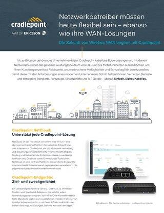 Network Operators Solution Brief - German