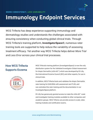 WCG Immunology Endpoint Services