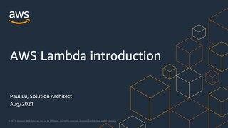 03 / AWS Lambda introduction & hands-on Lab_PDF