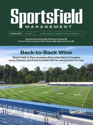 SportsField Management - Current Issue