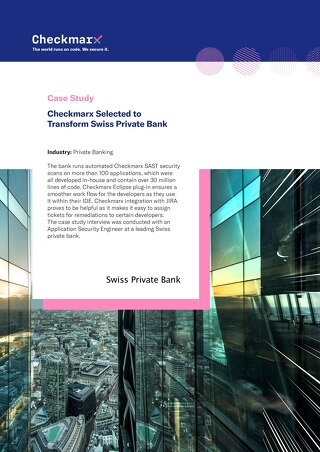 Case Study - Swiss Private Bank