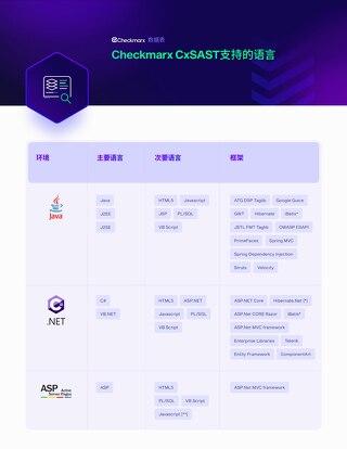 SAST Int Chinese - Supported Languages - Datasheet 2021
